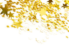 Golden stars Stock Image
