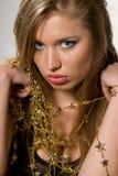 Golden stars Stock Image