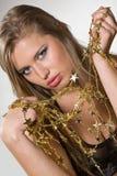 Golden stars Stock Images