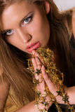 Golden stars Royalty Free Stock Photo