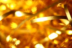 Golden stars background Royalty Free Stock Photo