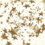 Golden stars  background. Depth of field. Golden stars  illustration. Vector depth of field Royalty Free Illustration