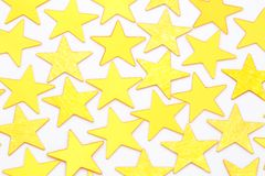Golden stars  Royalty Free Stock Photo