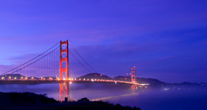 Golden State Bridge Stock Photos