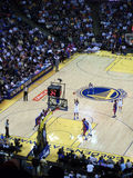 Golden State Warriors Dorell Wright takes free throw shot Royalty Free Stock Photography