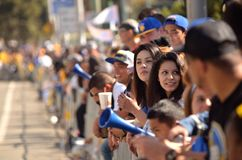 Golden State Warriors Victory Parade Stock Images