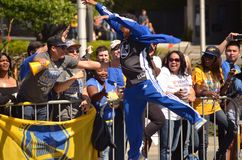 Golden State Warriors Victory Parade Royalty Free Stock Photos