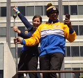 Golden State Warriors Victory Parade Royalty Free Stock Photo