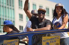 Golden State Warriors Victory Parade Royalty Free Stock Images