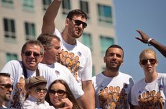 Golden State Warriors Victory Parade Stock Photography