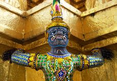 Golden Statue Stock Images
