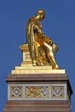 Golden statue Royalty Free Stock Photos