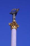 Golden statue Stock Photos