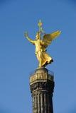 Golden statue in Berlin Stock Photography