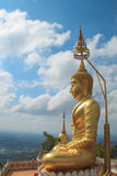 Golden statue of Buddha Royalty Free Stock Image