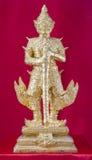Golden statue Stock Image