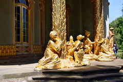 Golden statue Stock Photos