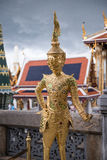 Golden statue at Royal Palace of Thailand Royalty Free Stock Photography