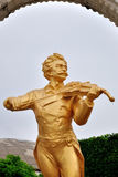 The golden statue Royalty Free Stock Image