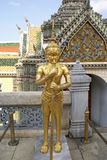 Golden statue, Temple of the Emerald Buddha, Bangkok, Thailand, Asia Stock Photography