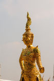 Golden statue, Thailand. Golden statue at Grand Palace, Thailand Royalty Free Stock Image
