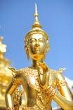 Golden Statue at Wat Phar kaew Stock Image