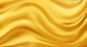 Golden Stream Royalty Free Stock Image