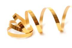 Golden streamer Royalty Free Stock Photo