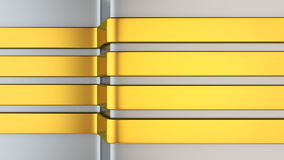 Golden stripes background Stock Images