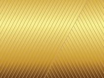 Golden stripes Stock Image