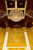 Golden stucco Stock Photography