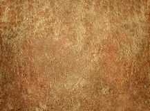 Golden stucco Royalty Free Stock Images