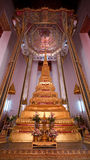Golden Stupa At Wat Mahathat In Bangkok, Thailand Royalty Free Stock Image