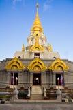 Golden stupa royalty free stock image