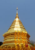 Golden stupa in a Buddhist Temple Wat Phrathat Doi Suthep Stock Photos