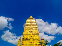 Golden stupa Royalty Free Stock Photos