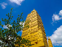 Golden stupa Royalty Free Stock Photo