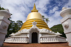 Golden Stupa - Dambulla - Sri Lanka Royalty Free Stock Photo