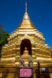 The golden stupa in PUN ON, chiang mai Stock Photos