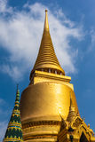 Golden stupa Royalty Free Stock Image