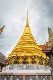 Golden Stupa of Temple of Emerald Buddha Royalty Free Stock Photo