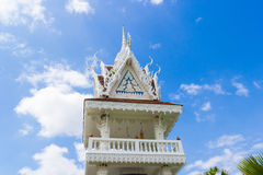 Golden stupa in thailand Stock Photography