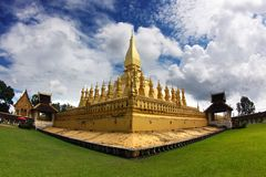 Golden Stupa in vientiane-lao Stock Photos
