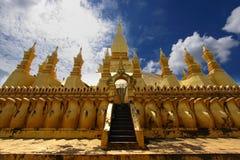 Golden Stupa in vientiane-lao Stock Photo