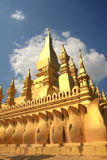 Golden Stupa in Vientiane - Lao Royalty Free Stock Image