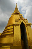 Golden stupa. Wat Phra Kaew. Grand Palace. Bangkok, Thailand Stock Photography