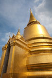 Golden Stupas at Grand Palace, Bangkok, Thailand. Golden Stupas and Chedis at Phra Sri Ratana, Grand Palace, Bangkok, Thailand Royalty Free Stock Photography