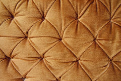 golden stylish fabric with knobs Royalty Free Stock Photos