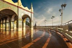 Golden Su Taung Pyai Pagoda at Mandalay Hill. Myanmar (Burma) Stock Images