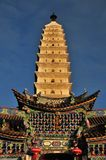 Golden Summit Temple Stock Images
